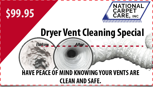 $99.95 dryer vent cleaning special in Orlando
